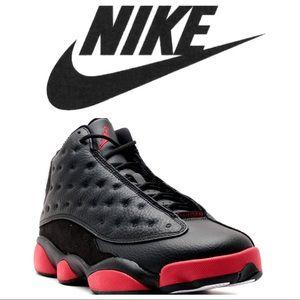🔥Hot Deal🔥Boys Nike Jordan 13 Dirty Bred 4.6